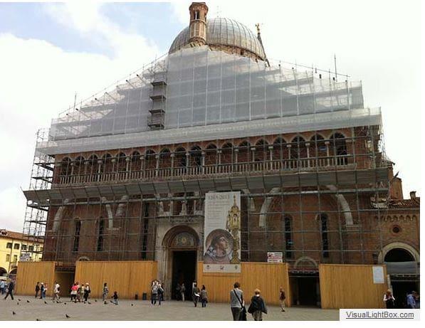 Ponteggio Basilica del Santo Padova Euroedile-2