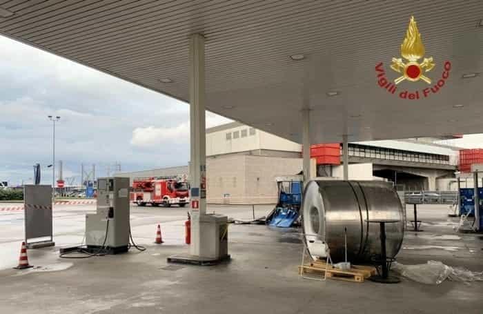 Incidente sulla A4 a Dalmine in autogrill (5)-2