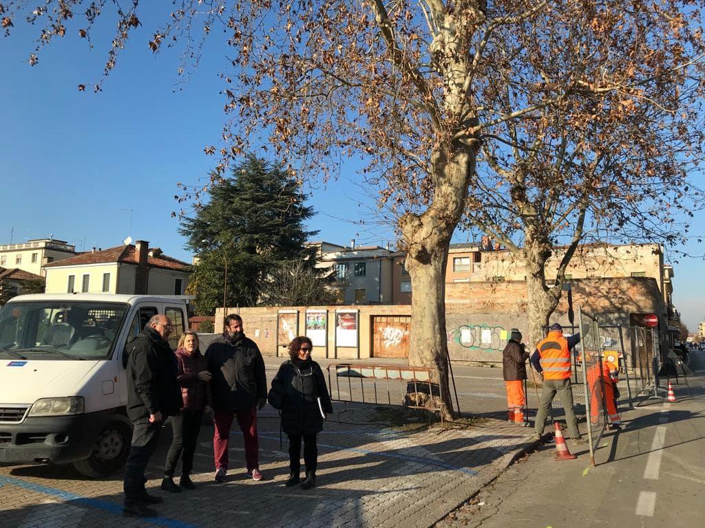 ComuneMogliano-avvio riqualificazione Piazza Donatori Sangue -14-01-2019 - 9-2