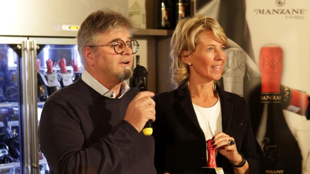 131219 Ernesto Balbinot e Silvana Ceschin, titolari della cantina Le Manzane-2