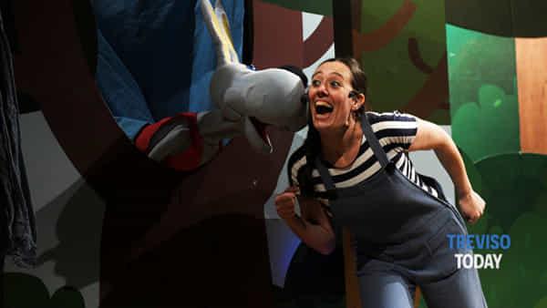 """Riparte """"Una fetta di teatro"""": spettacoli per bambini e famiglie a Treviso"""