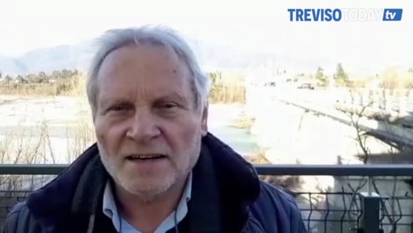 Calcinacci cadono dal ponte di Vidor ma resta buono lo stato dei piloni