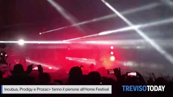 Si balla e si poga tutta la notte all' Home Festival con Incubus, Prodigy e Prozac+
