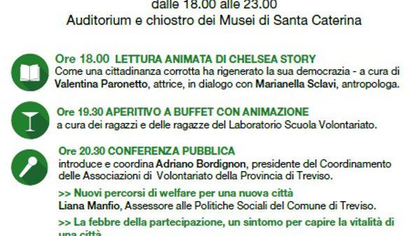 """""""Una città in comune"""" a Treviso, verso il forum delle politiche sociali"""