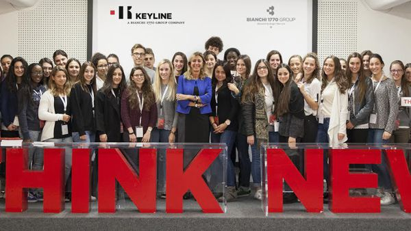 "Pmi Day: studenti  del ""Da Collo"" in visita alla Keyline di Conegliano"