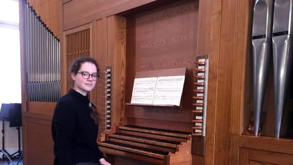 Elena Todeschi suona Bach nella Cattedrale di Asolo