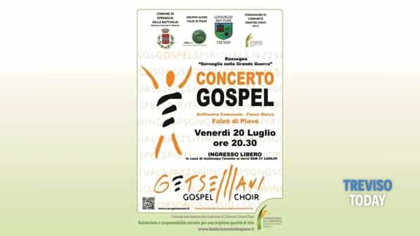 Coro Gospel Getsemani in concerto