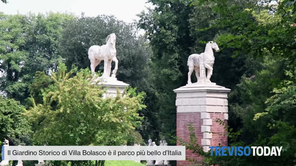 Il parco più bello d'Italia? E' Il Giardino Storico di Villa Bolasco