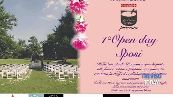 """Primo open day sposi, domenica 14 aprile al ristorante """"Da Domenico"""""""