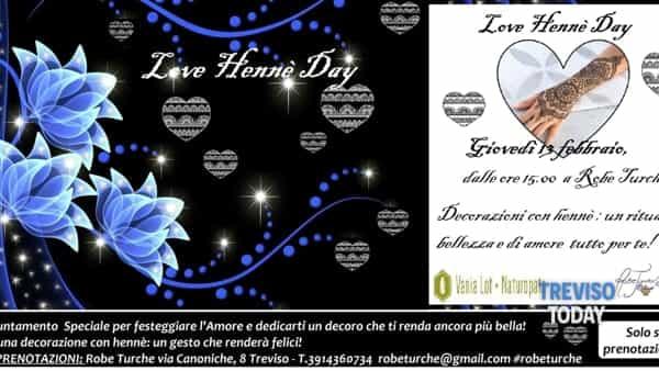 Love Hennè Day - Decorazioni con hennè: un rituale di bellezza e di amore