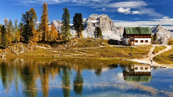 croda da lago - bandion photo