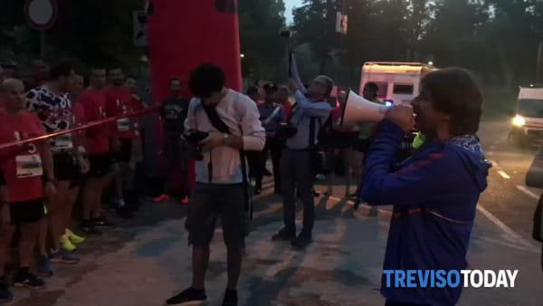 """Treviso si sveglia all'alba per le vie del centro con la """"5 alle 5"""""""
