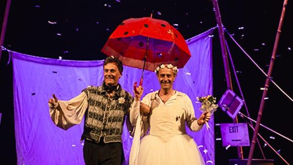 """Teatro Accademico: ecco Ale e Franz in """"Nati sotto contraria stella"""""""