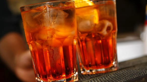 Due spritz al Campari