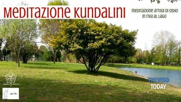 Meditazione Kundalini in riva al lago