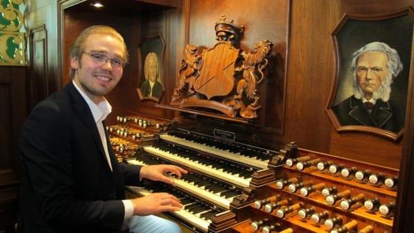 """Festival """"Città di Treviso"""": l'organista olandese Adriaan Hoek chiude la rassegna"""