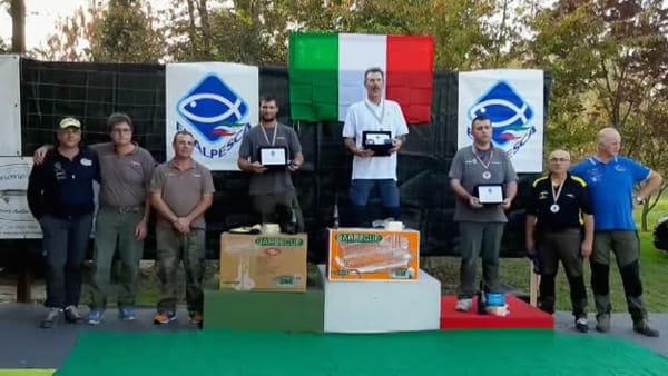 Campionati italiani di pesca alla trota in lago a Piombino Dese: tutti i risultati