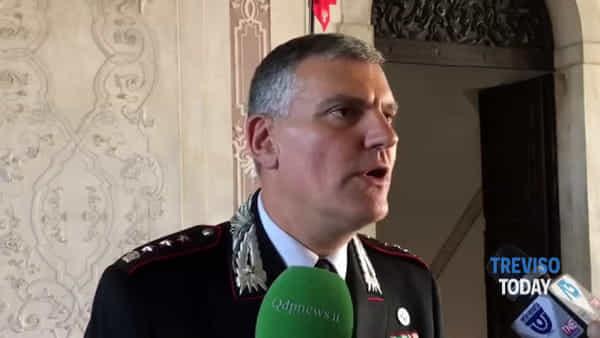 Il comandante Vitucci lascia la Marca: «Lascio una Treviso più sicura»