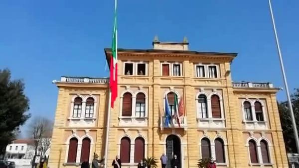 Anniversario dell'Unità d'Italia: Inno di Mameli e alzabandiera a Mogliano