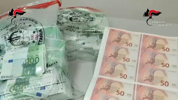 Traffico di denaro falso, maxi-indagine dei carabinieri