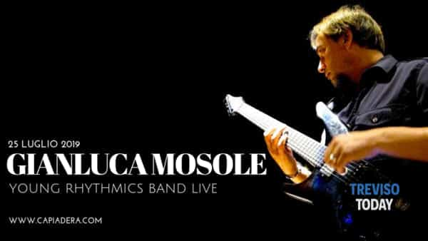 Gianluca Mosole live a Ca' Piadera - Young Rhythmics band