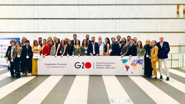 DELEGAZIONE ITALIA G20 YEA-2