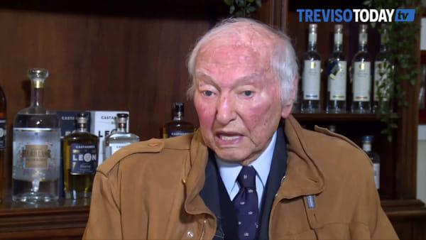 Piero Angela premiato a Vazzola: «Servono misure drastiche contro il Coronavirus»