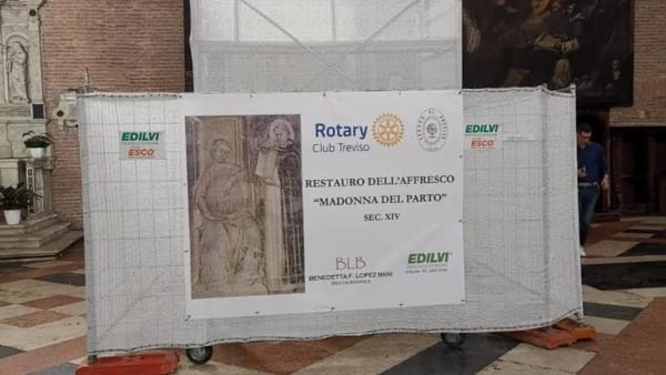 San Nicolò - cantiere di restauro Madonna del Parto-2