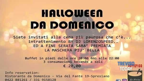 """Halloween 2018 @ ristorante """"Da Domenico"""""""