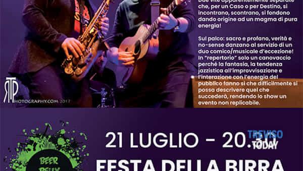 """""""Fratelli di note"""" con Sergio Sgrilli e Andrea Poltronieri"""