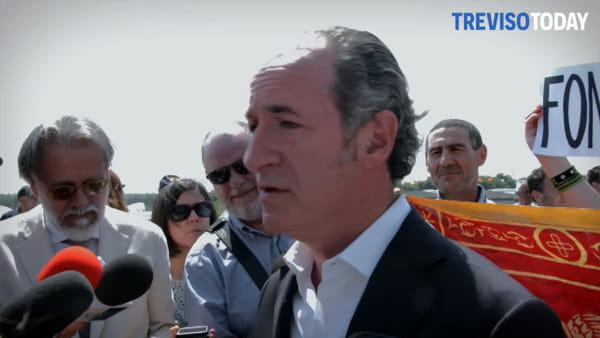 Colline del prosecco patrimonio Unesco, Zaia: «Andrò di persona a ritirare»