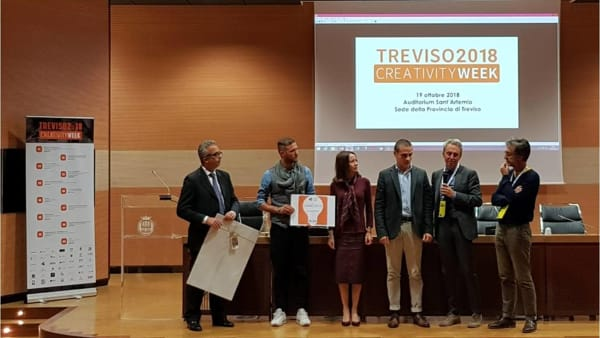 "Treviso Creativity Week 2018: a Karryco il prestigioso ""Premio Start Up Innovativa"""