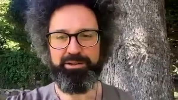 """Cristicchi con Marco Paolini sul Monte Tomba per """"Vacanze dell'anima"""""""