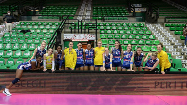 Imoco Volley (Credits: M. Gregolin)