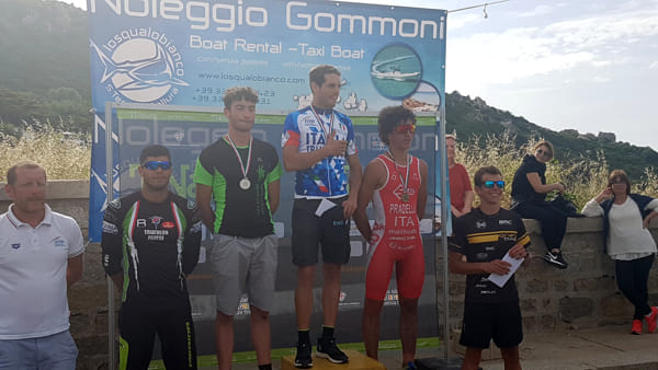 Lo Junior Filippo Pradella è di bronzo ai tricolori assoluti di triathlon cross