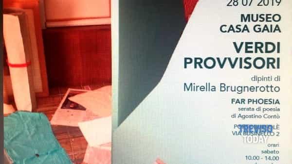 """""""Verdi provvisori"""": la nuova mostra personale di Mirella Brugnerotto"""