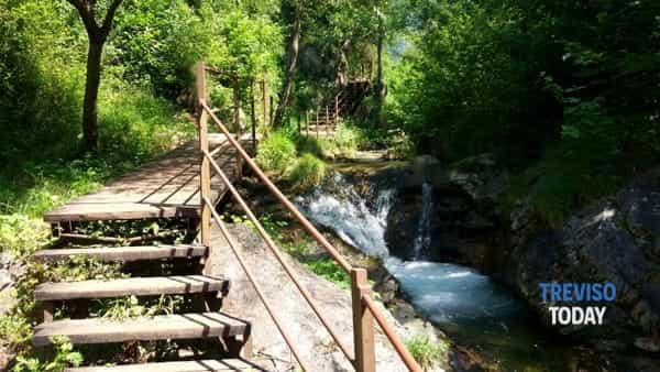 La via dei mulini a Cison di Valmarino tra boschi incantati e antichi mestieri