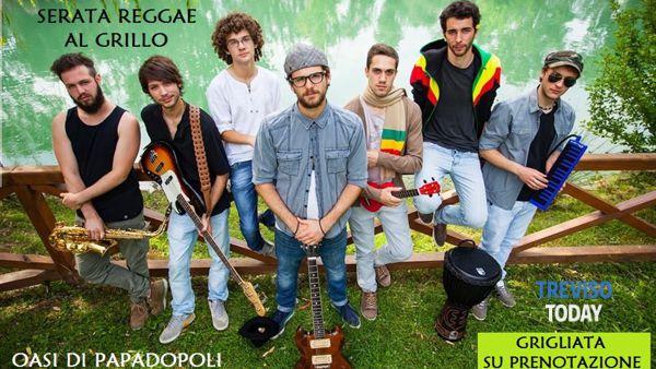 """Venerdi 21 Agosto serata reggae al """"Grillo"""""""