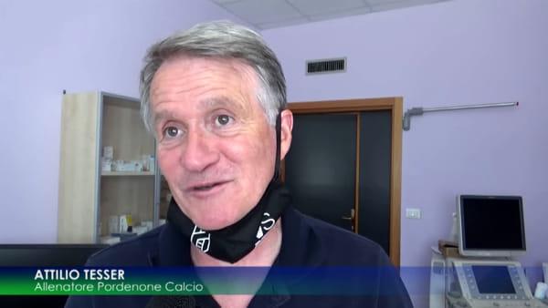 Pordenone Calcio: dopo la vittoria col Perugia tutti a farsi i tamponi a Monastier