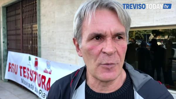 Tessitura Monti, accordo saltato: sindacati in sciopero davanti all'azienda