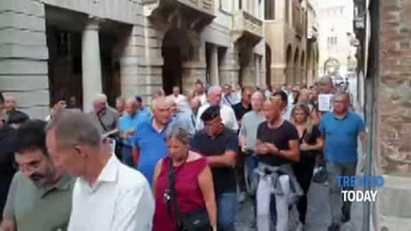 Carabiniere ucciso a Roma, manifestazione di solidarietà a Treviso