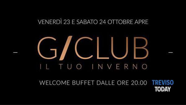 """G/Club """"Il tuo inverno"""": venerdì 23 ottobre l'attesa apertura"""