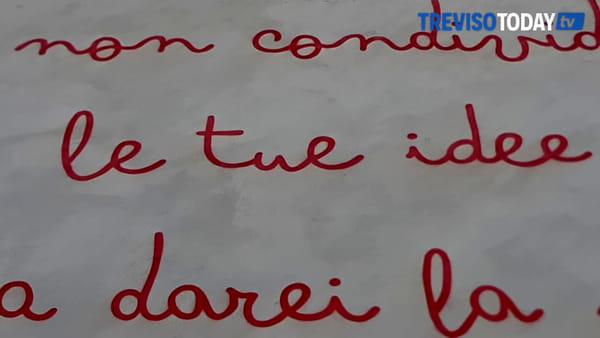 """Ricompare il """"Salvini diabolico"""": ecco il murales anti-censura di Manuel Giacometti"""