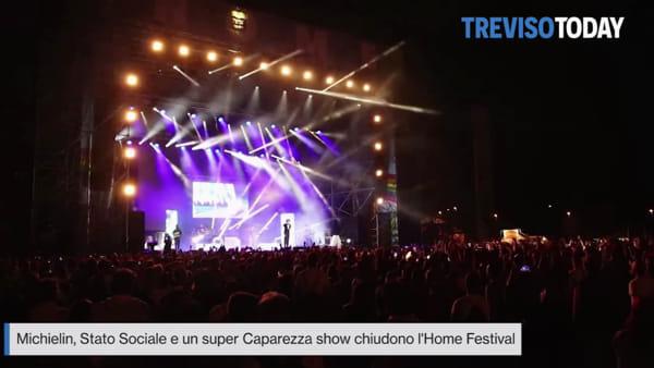 Super Caparezza Show chiude l'Home Festival 2018