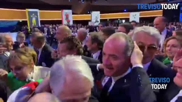 Olimpiadi, Malagò scherza con Zaia: «Il più para... di tutti»
