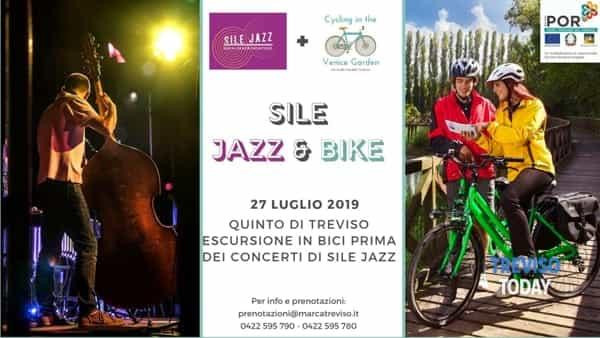 Sile jazz & bike, da Quinto di Treviso lungo la Ostiglia fino alla porta dell'acqua