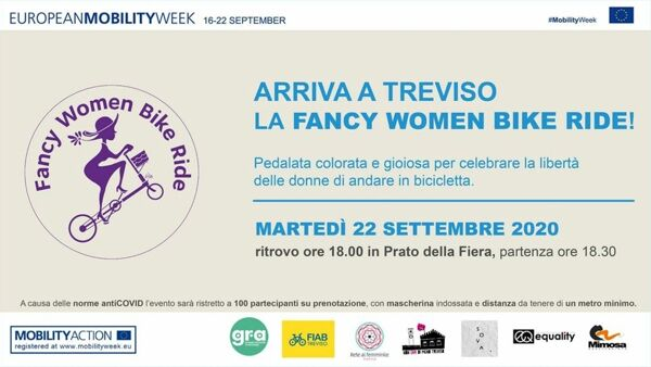Fancy Women Bike Ride Treviso 2020