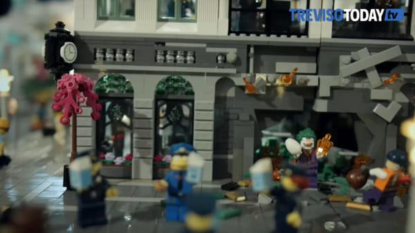 A Treviso la mostra eco-sostenibile costruita con un milione di mattoncini Lego