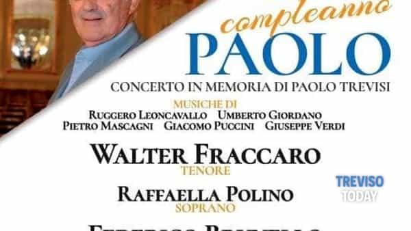 Musica lirica ed emozioni a Villorba: Buon Compleanno Paolo