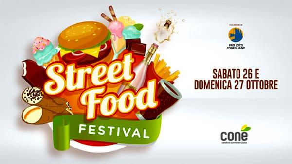 Street Food Festival al centro commerciale Conè